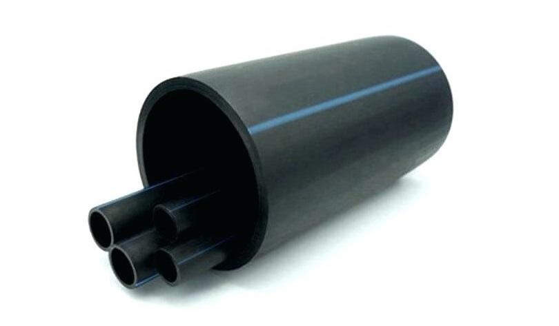 لوله های تک جداره فشار قوی پلی اتیلن