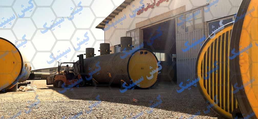 تولیدکننده انواع مخازن پلی اتیلن نگهداری اسید