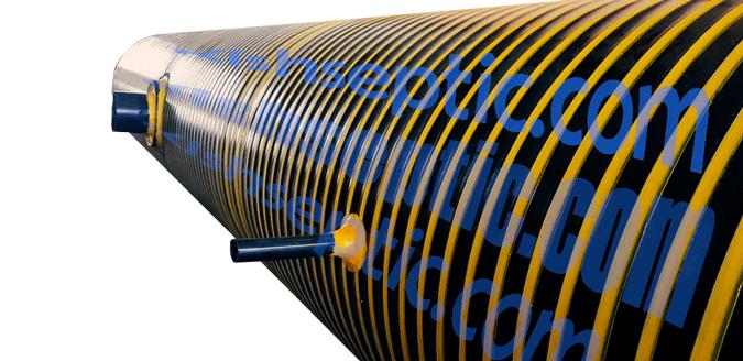 مخزن نگهداری اسید از جنس پلی اتیلن برای تریلرهای حمل اسید