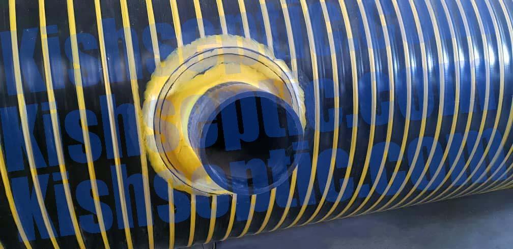 مخزن دوجداره پلی اتیلن جهت حمل اسید توسط تریلرهای حمل اسید