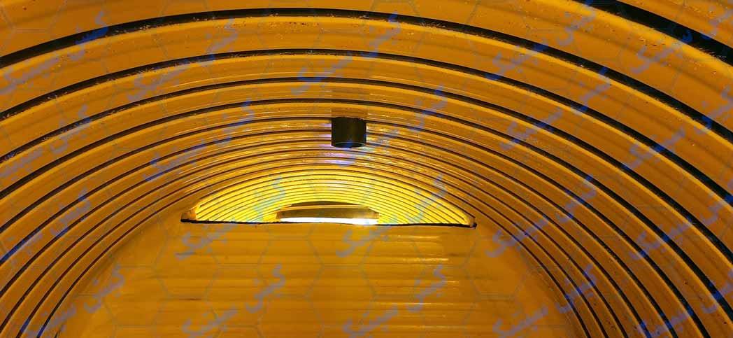 نمای داخلی سپتیک تانک پلی اتیلن